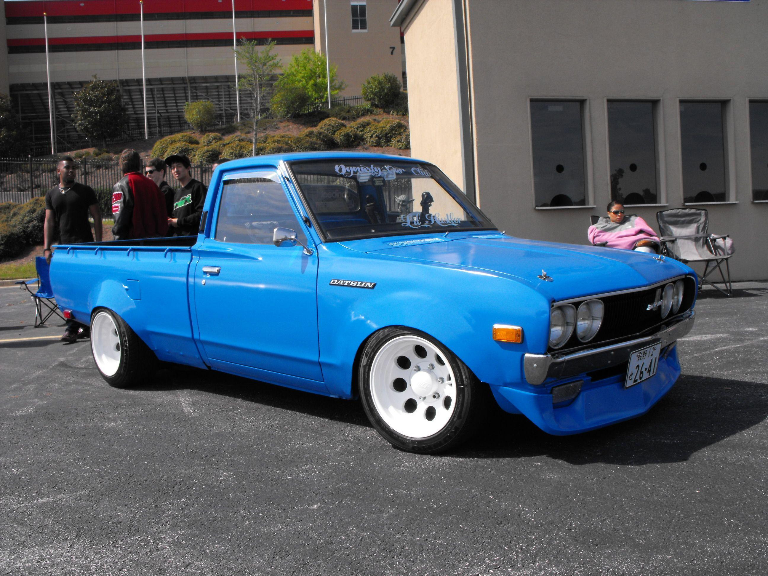 Datsun 620 Widebody Datsun 620 Jdm Cars Rims Tires Mini Trucks
