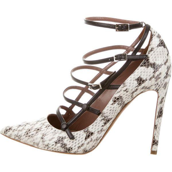 outlet order sale ebay Tabitha Simmons Snakeskin Multistrap Sandals online sale discount footlocker pictures zDUL4LCzr1
