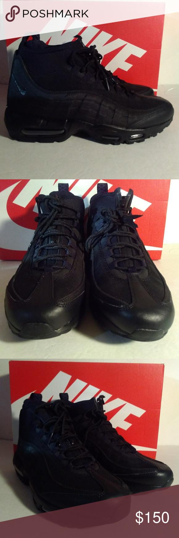 online store 89140 6e703 Nike Air Max 95 Sneakerboot 806809-002 Men Sz 8.5 Nike Air Max 95  Sneakerboot