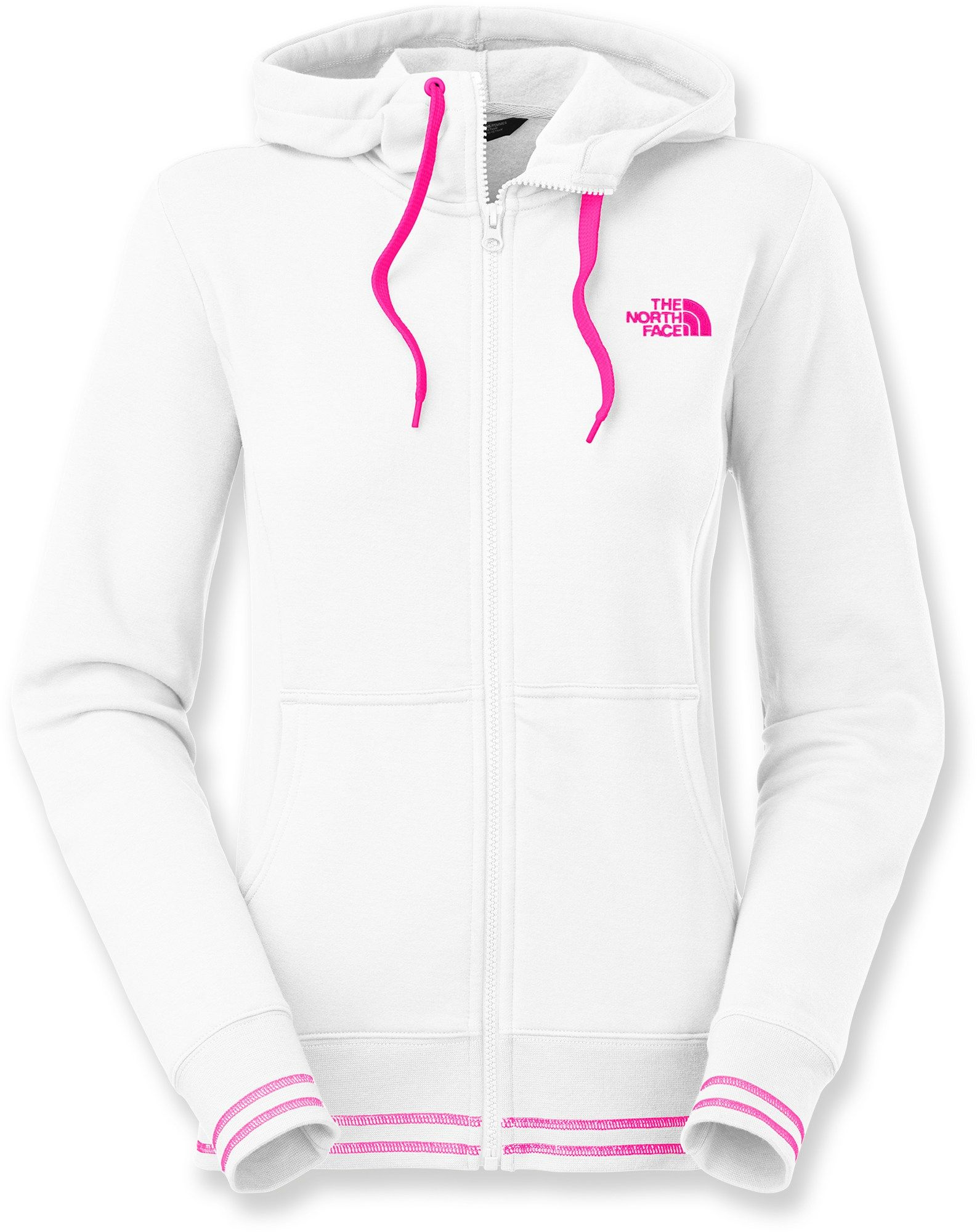 bcbda46dd The North Face Female Logo Stretch Full-Zip Hoodie - Women's ...