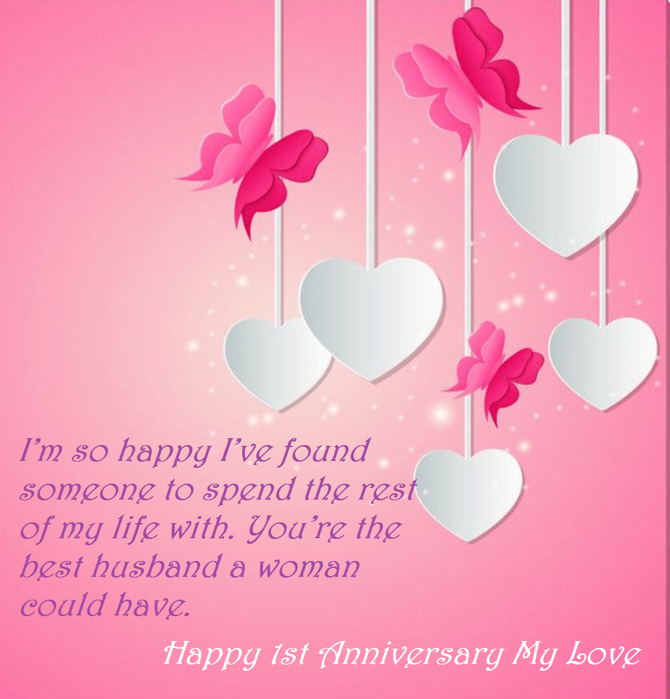 First Wedding Anniversary.Happy First Wedding Anniversary Wishes For Hubby Wedding
