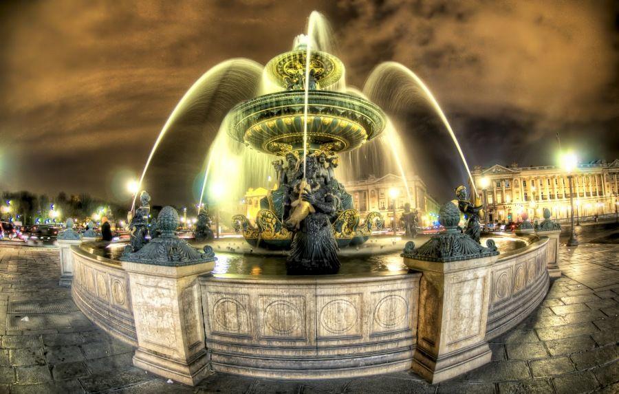 Paris, France – Place de la Concorde (HDR)
