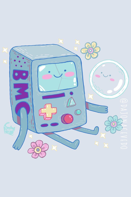 Bmo And Bubble Adventure Time Fanart In 2020 Adventure Time Cartoon Cartoon Fan Fan Art