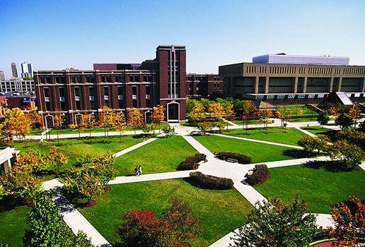 4 Depaul University Campus Chicago Illinois Depaul University University Campus College Campus