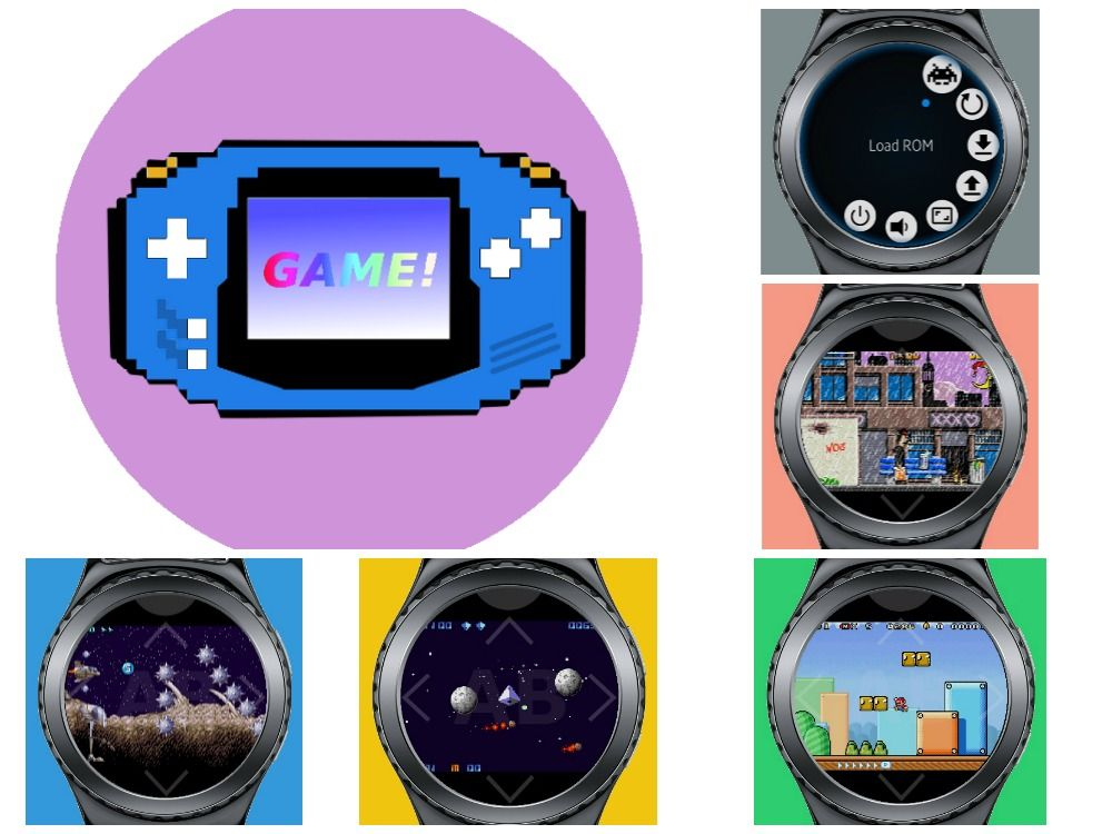 GameBoy Advance (GBA) Emulator Compatible with Samsung
