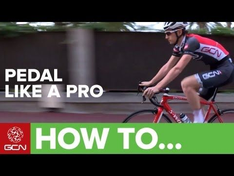 How To Pedal Like A Pro Youtube Avec Images Velo Urbain