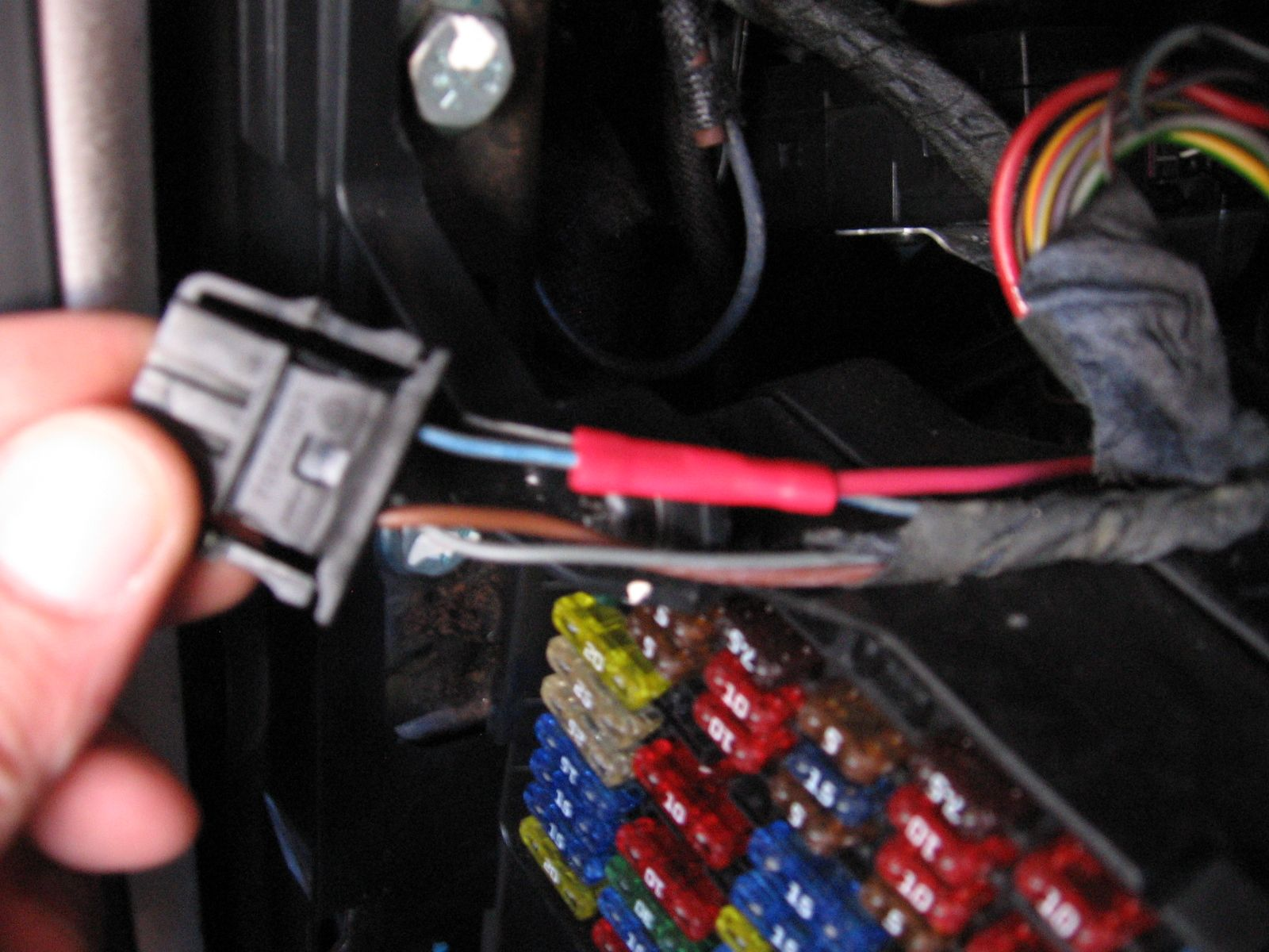 How to Install a Boost Gauge and Wires in an MKIV VW or