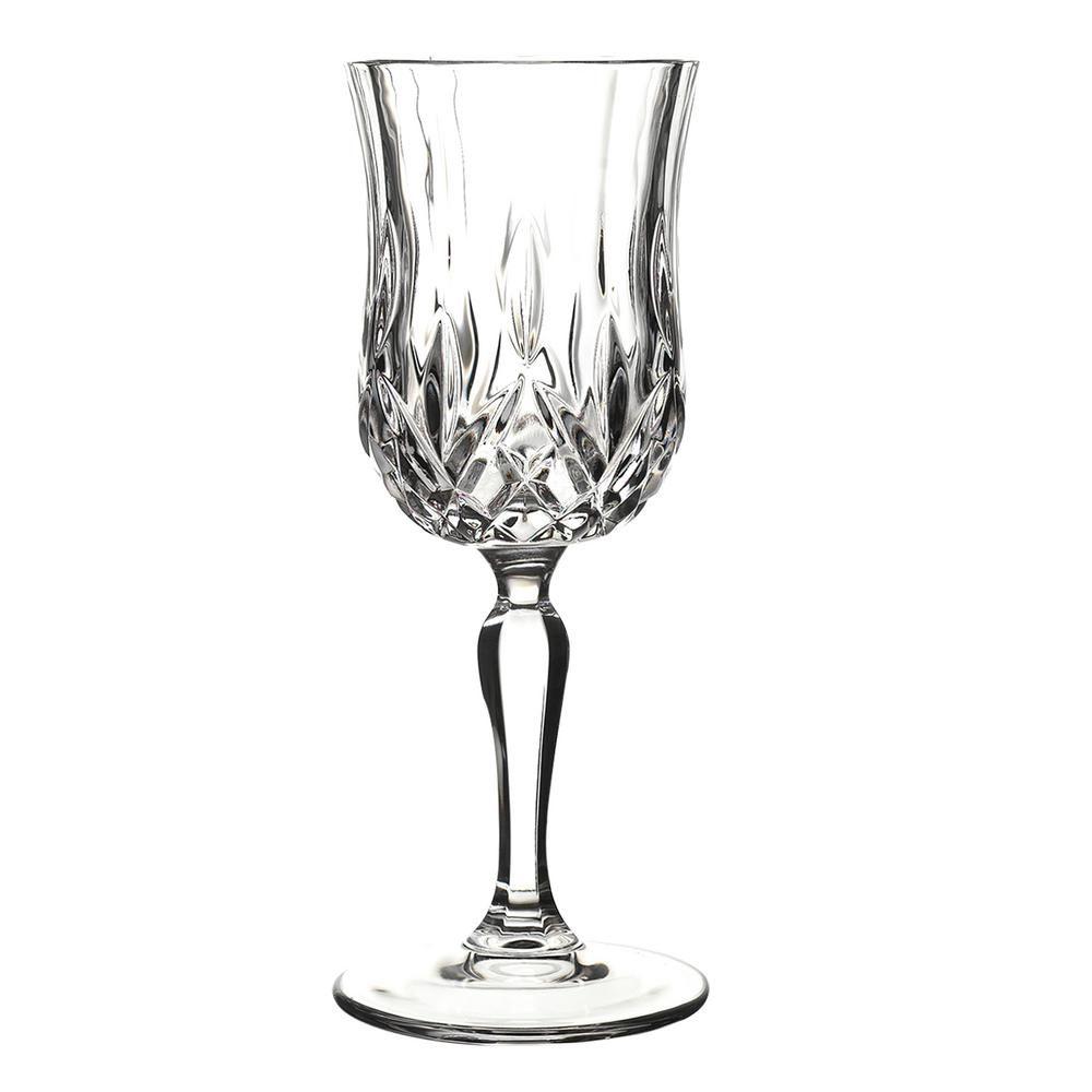 Lorren Home Trends Rcr Opera Wine Glass Set Of 6 Wine Glass Set Wine Glass White Wine Glass Set