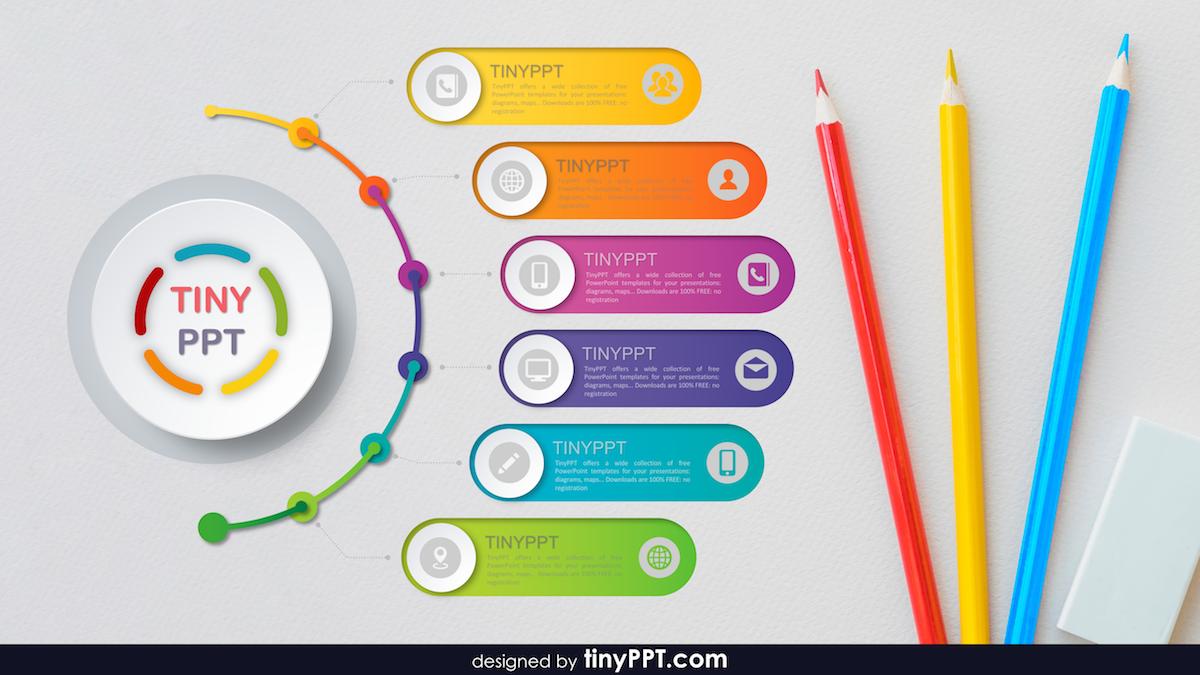 Smartart Templates For PPT (Dengan gambar) Desain