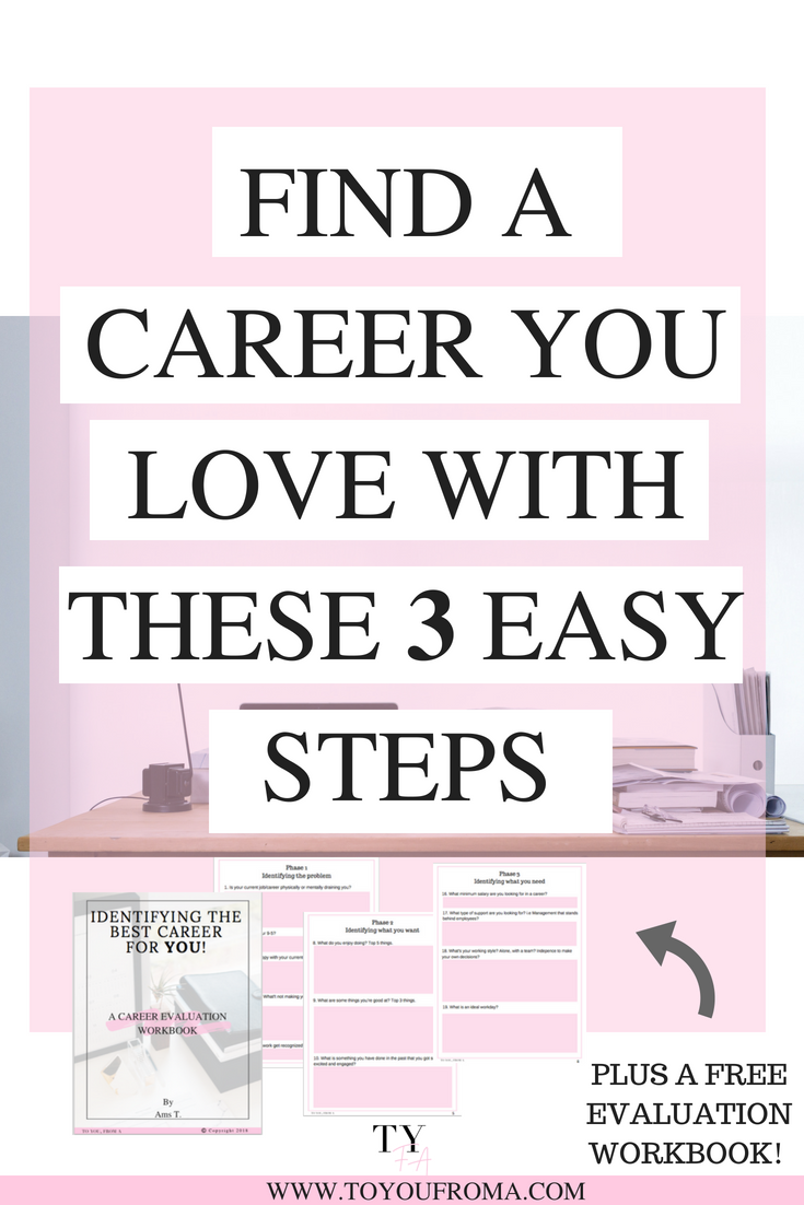 3 Steps To Finding A Career You Love Millennial Life Group Board