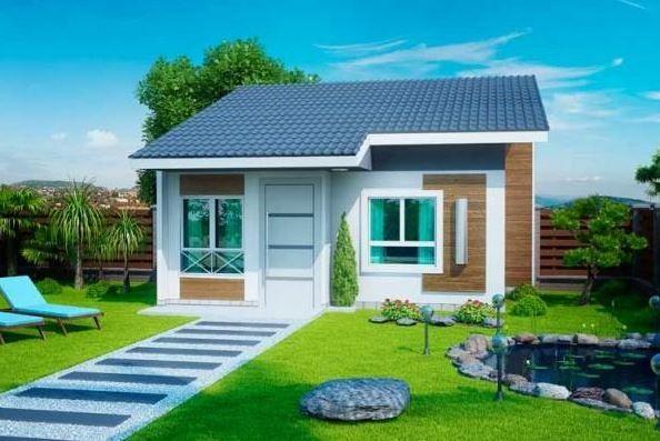 Fachadas modernas de casas peque as y bonitas paloma for Casas pequenas y bonitas
