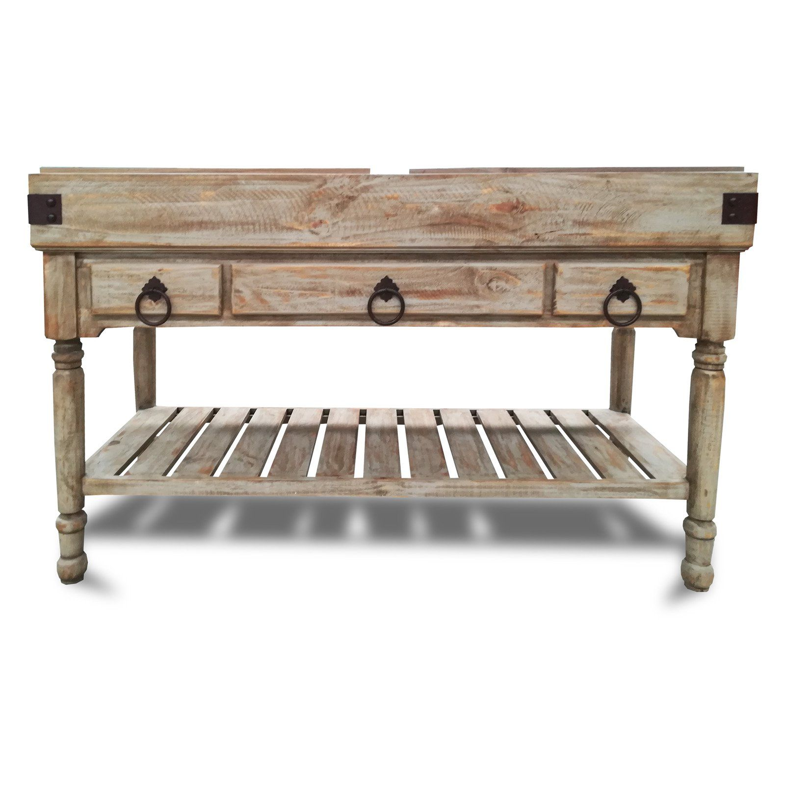 Eagle Furniture Avagon Large Boucherie Butcher Block Kitchen Island From Hayneedle