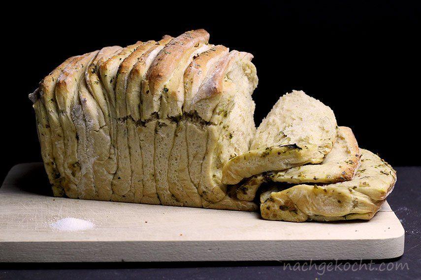 Auseinanderzieh-Brot