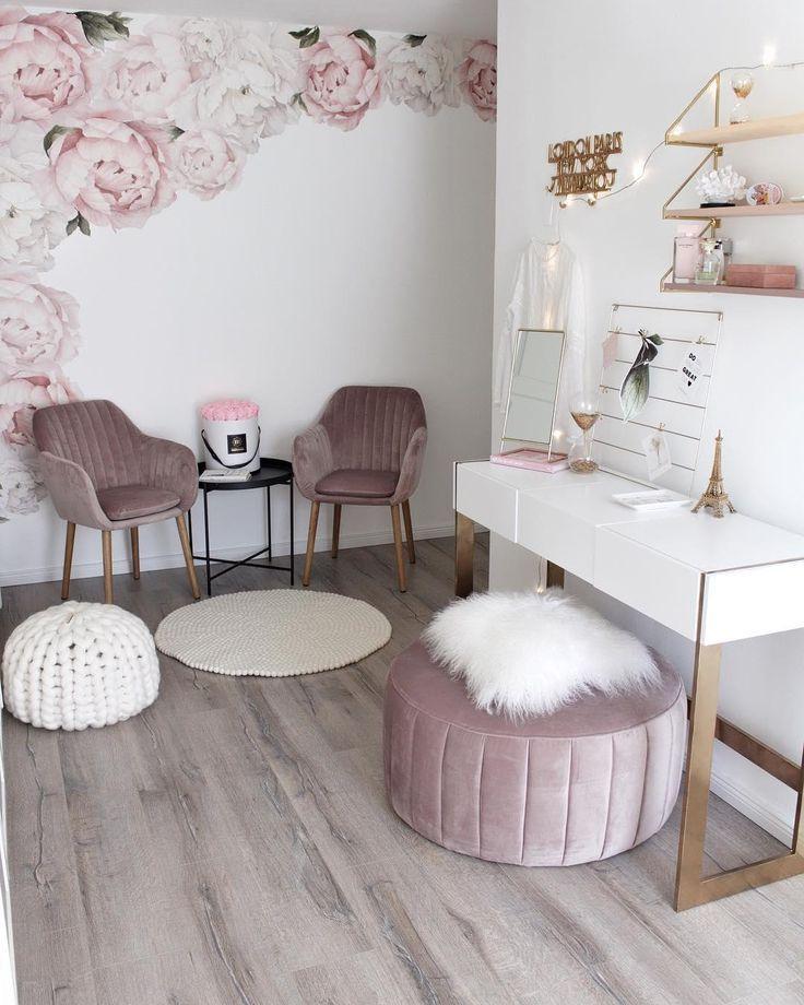 SamtArmlehnstuhl Emilia in 2019  rooms  Zimmer deko ideen Kinderzimmer aufkleber und