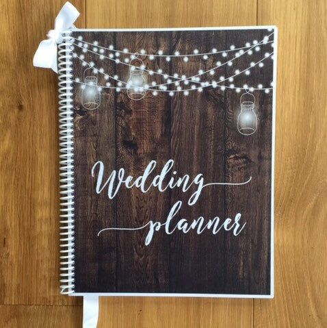 I Just Love Fall Weddings This Planner Will Keep You Organized And Makes A Beautiful