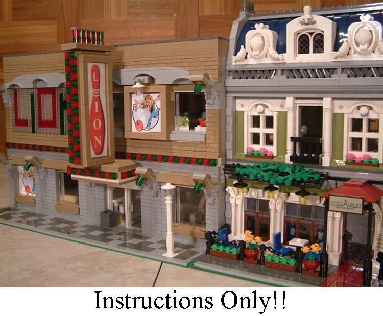 Get 100 Custom Lego Instructions Like Bowling Alley 4 10243