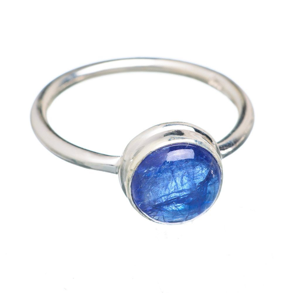 Rare Kyanite 925 Sterling Silver Ring Size 6.75 RING725203