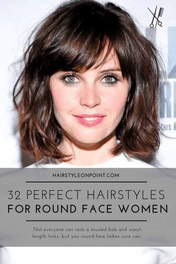 32 Perfect Hairstyles For Round Face Women Hairstyles Haircuts For Men Women Round Face Haircuts Hairstyles For Round Faces Haircuts For Round Face Shape