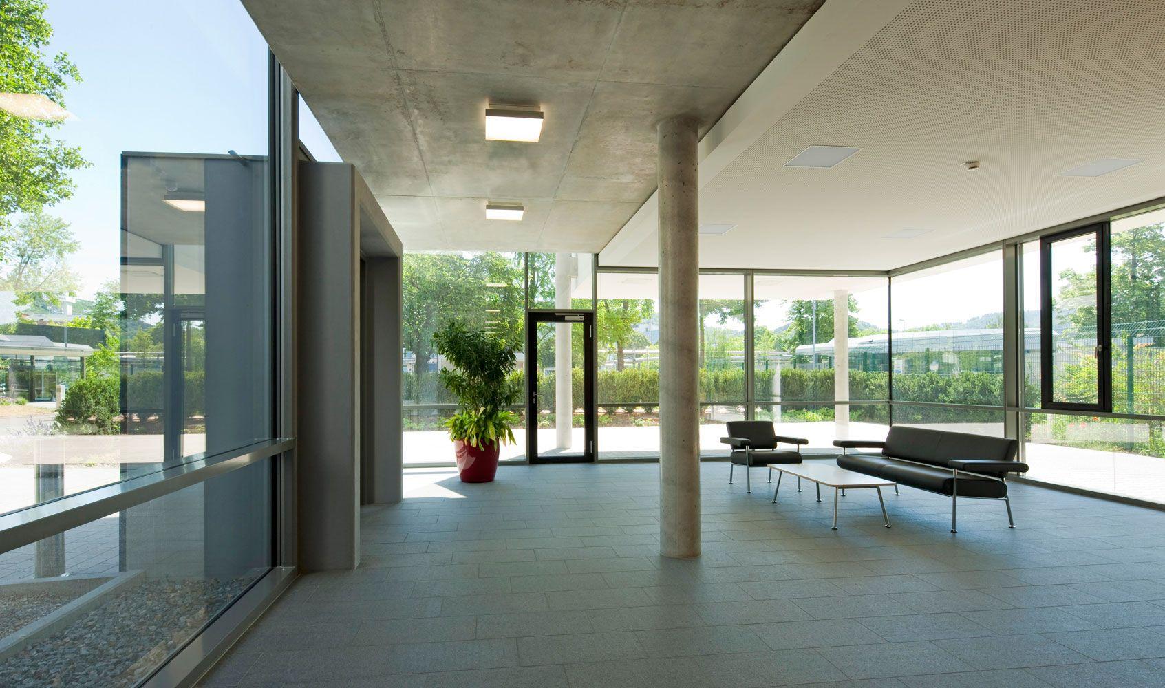 Weber Und Partner foyer empfang bürogebäude freudenberg gruppe weber und partner