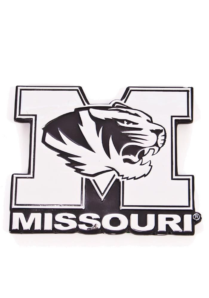 Missouri Tigers Chrome Car Emblem Silver In 2019 Rhpinterest: Coloring Pages Car Logos At Baymontmadison.com