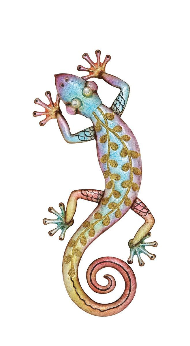 Cool caribbean gecko wall art products pinterest products