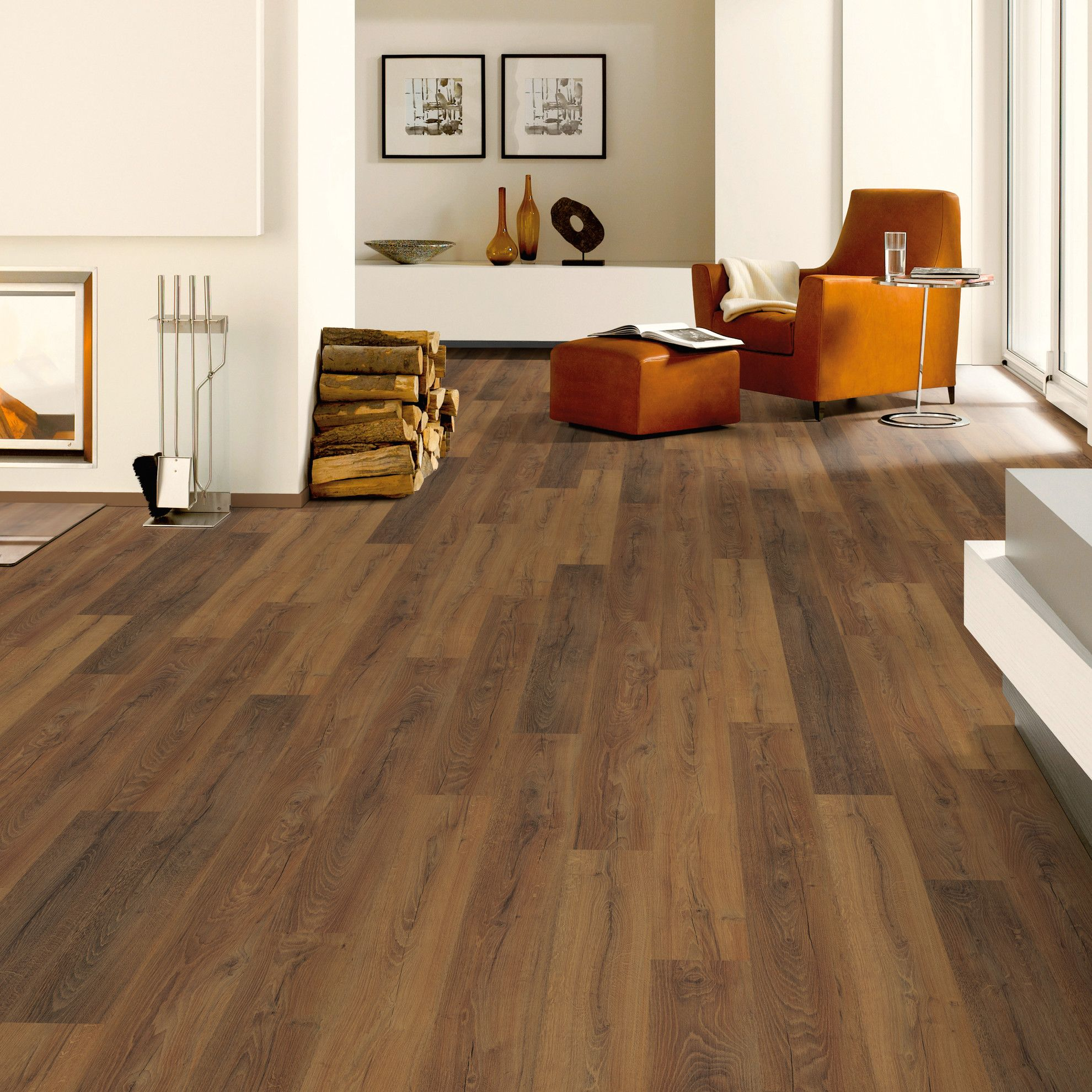 Pavimento laminato multitono scuro 8 mm interiors oak for Parquet flottante leroy merlin prezzi