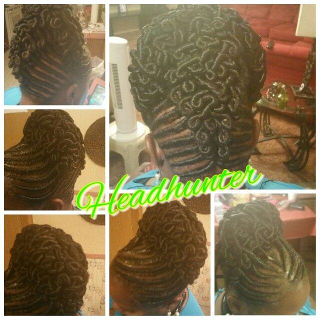 stuffed twist hairstyles natural