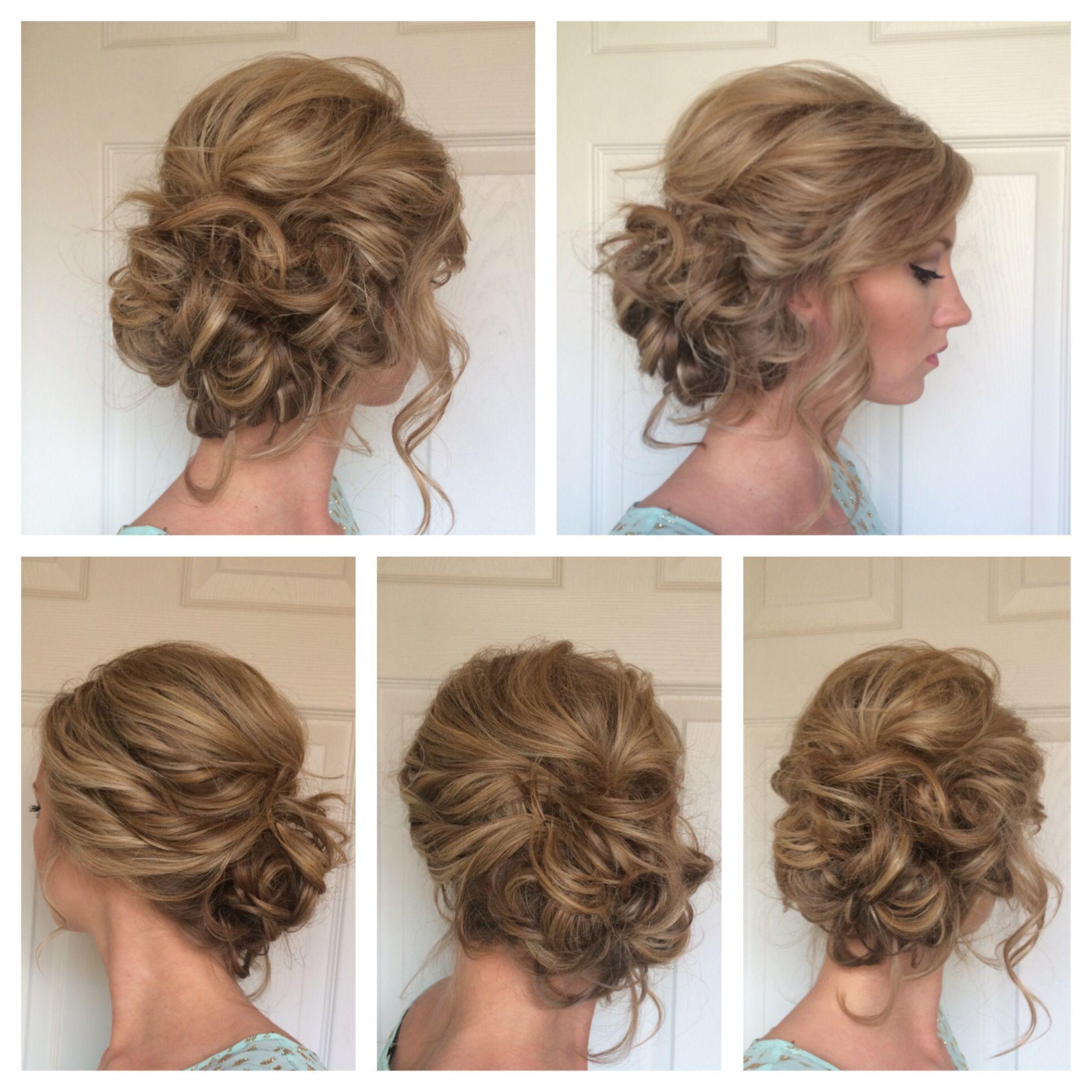 Side updo jessicabmelton pentinats pinterest updo hair