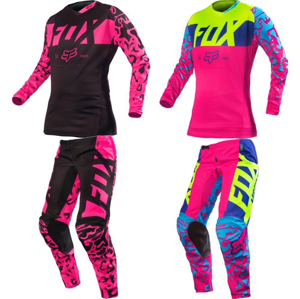 8741709703b Fox Racing 180 Kids Girls Motocross Jerseys Kids Dirt Bike Gear, Kids Motocross  Gear,