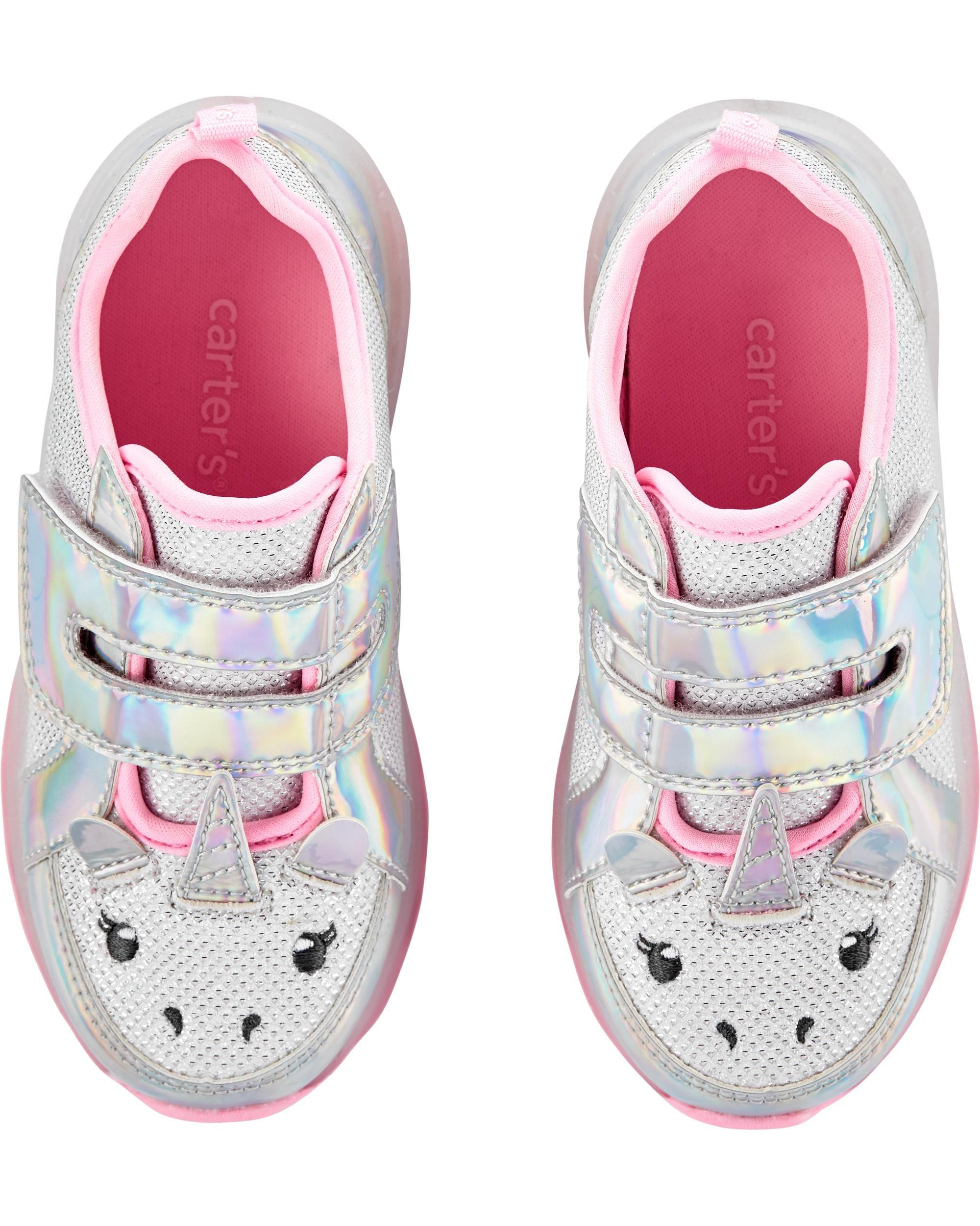 Carter's Unicorn Light-Up Sneakers in
