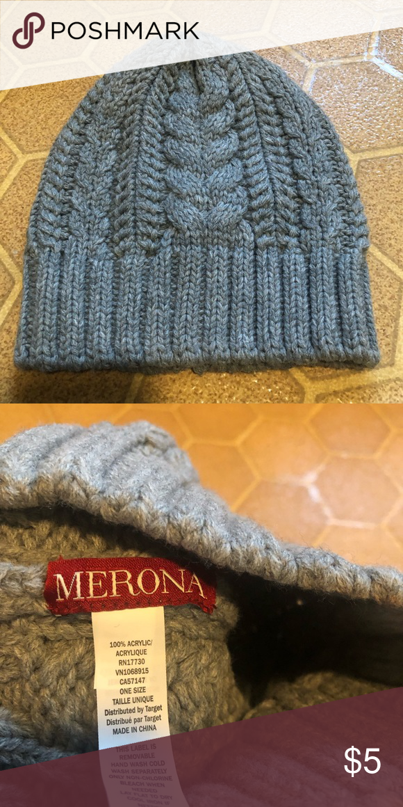 588dc3a56edc6 Merona beanie Brand new. Never worn. Only tried on. Thick and warm beanie