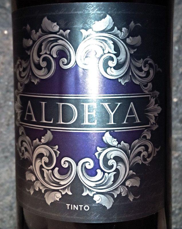 Aldeya Tinto 2011. Garnacha, tempranillo, merlot y syrah. Vino de pago. Cariñena.