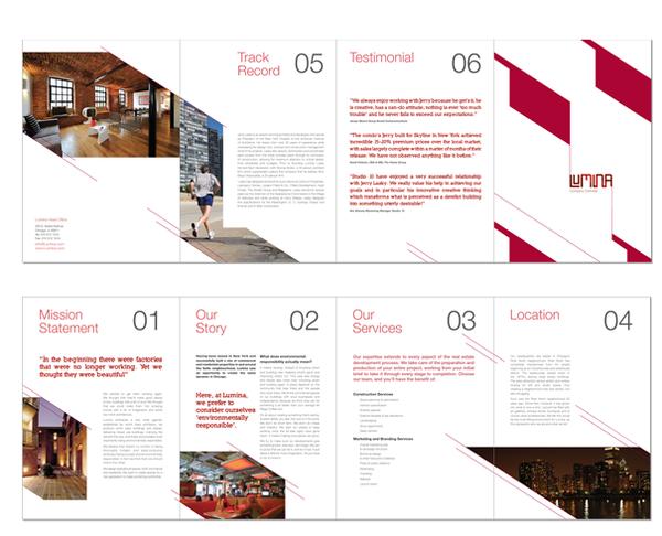 Real Estate Brochure Designs For Inspiration  Brochures Real