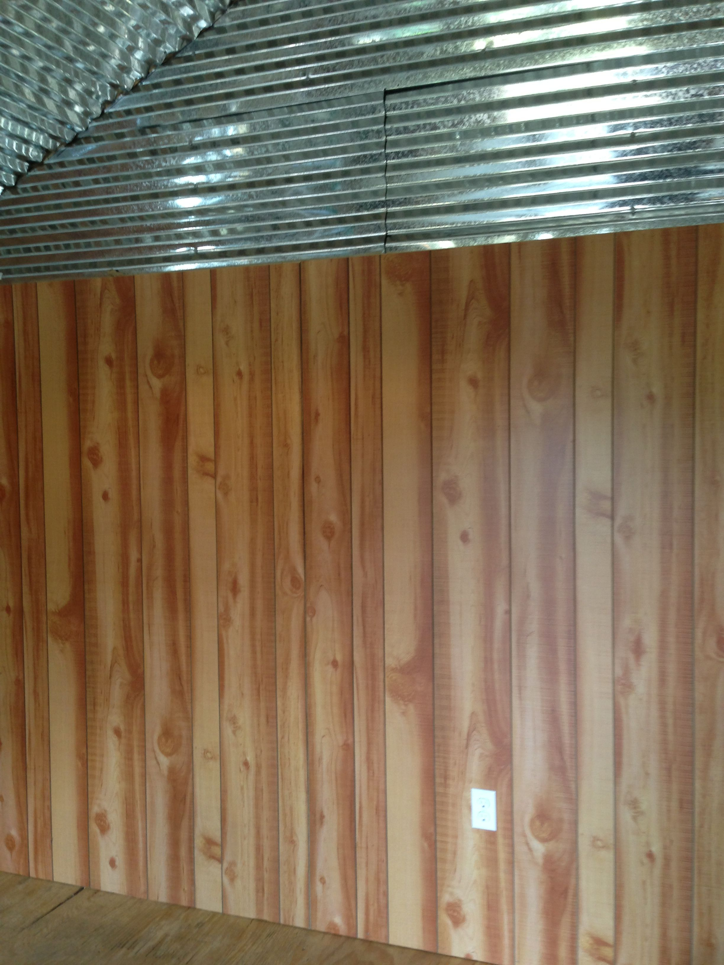 Cedar Paneling Walls Not Sure On The Tin Yet May Do The