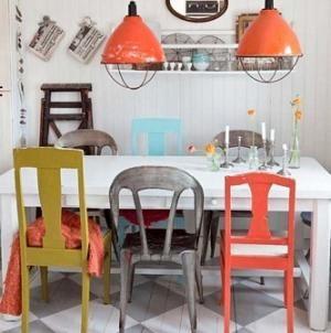 cmo decorar un comedor con muebles vintage decoracin hogar pinterest vintage