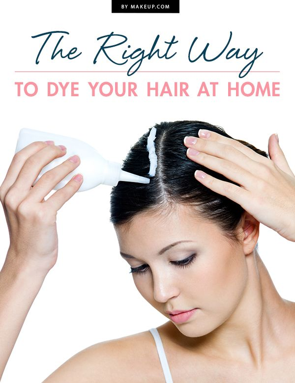 The Right Way to Dye Your Hair at Home | Hair dye, Box and Hair style