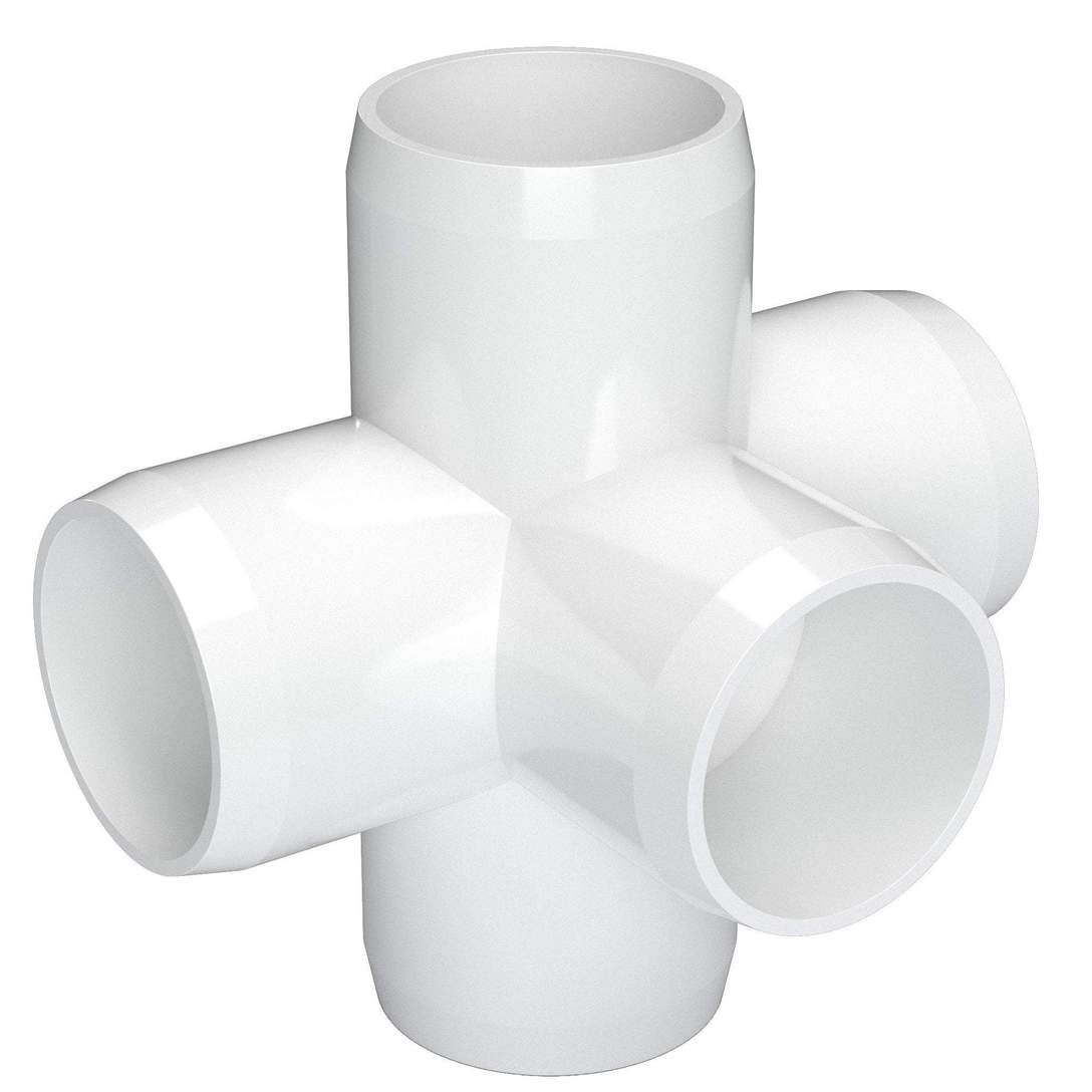 1 5 Way Cross Pvc Fitting Furniture Grade Pvc Fittings Furniture Grade Pvc Pvc Projects