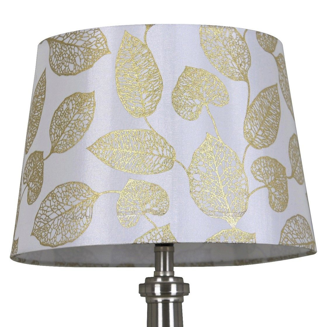 Threshold metallic foil leaf lamp shade ideas for my new place threshold metallic foil leaf lamp shade aloadofball Images