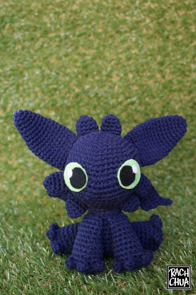 Step-By-Step Tutorial: Toothless from How To Train Your Dragon ...