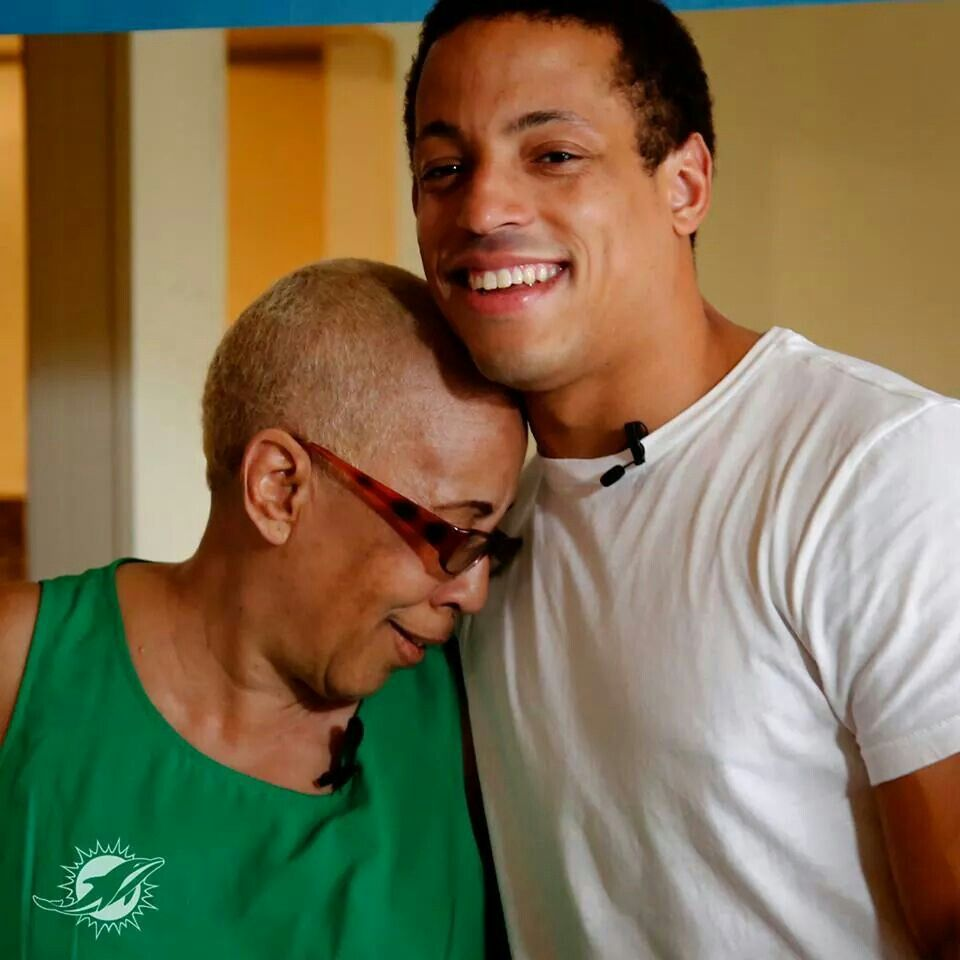 Happy Mother s Day from Phins DB Brent Grimes
