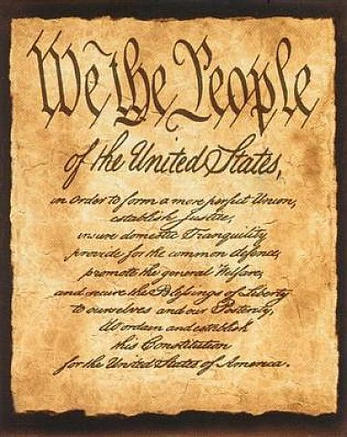 The Preamble of the US Constitution | United States of America ...