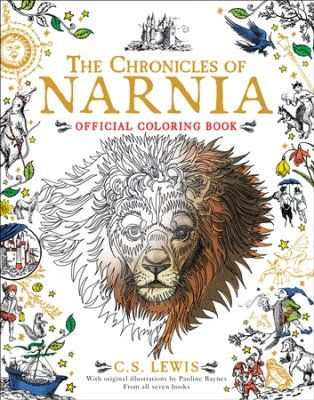 The Chronicles of Narnia Official Coloring Book | Narnia, Books and ...