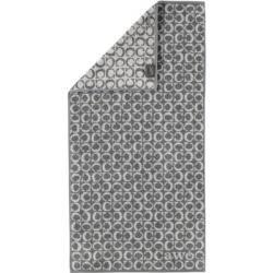 Photo of Cawö Handtücher Luxury Home Two-Tone C-Allover 605 schiefer – 77 – Handtuch 50×100 cm Cawö