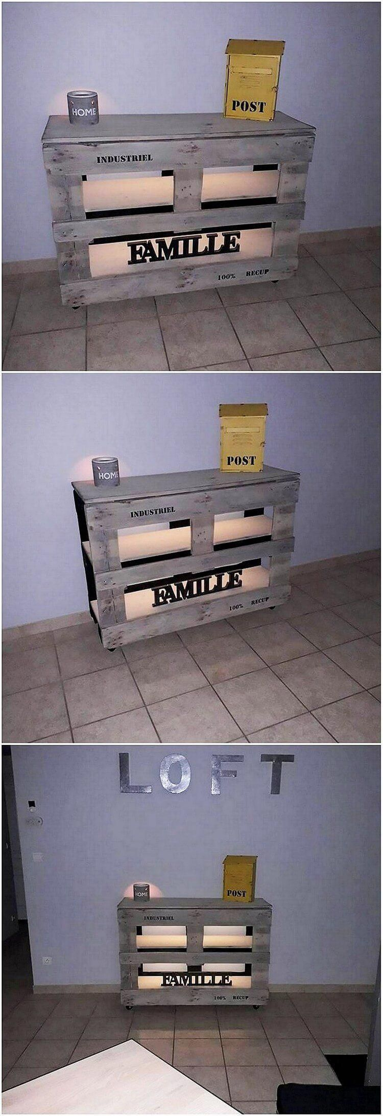 Find more information on Pallet Upcycling #palletwall # ...