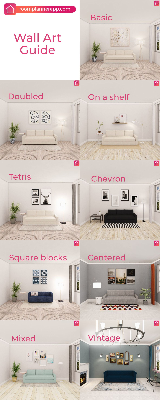 Wall Art Guide Room Planner 3d Interior Design Design Hack