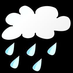 It's Raining Clip Art