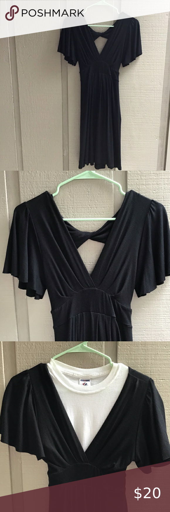 Nwt Small Black Dress Made In Usa Small Black Dress Black Dress Little Black Dress [ 1740 x 580 Pixel ]