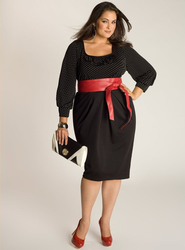 Top 10 Black Dresses for Plus Sized Women | Around the worlds ...