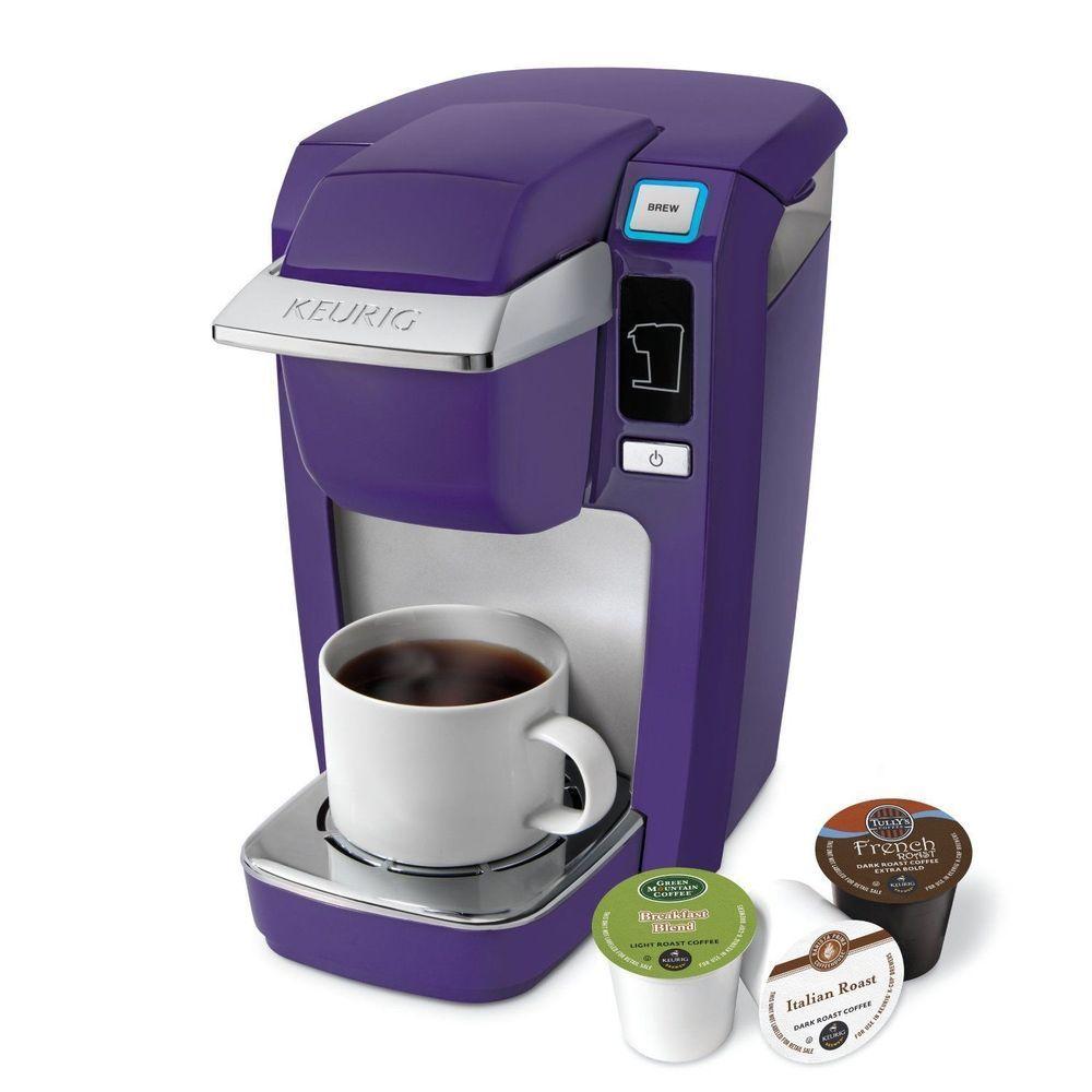 Brand New Keurig Mini Plus B31 K10 Coffee Maker Purple Keurig Mini Purple Kitchen Keurig