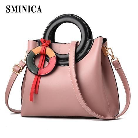 1f1b27af714 Sminica 2018 brand new retro women messenger bags small shoulder bag high qu